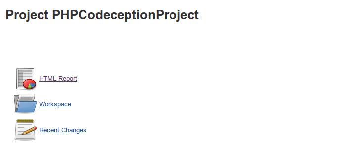 Jenkins HTML Report